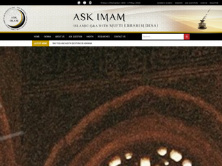 askimam.org Screenshot