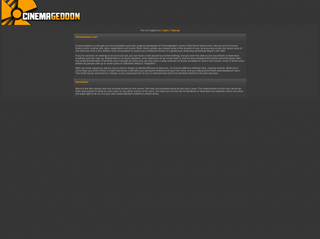 cinemageddon.net Screenshot