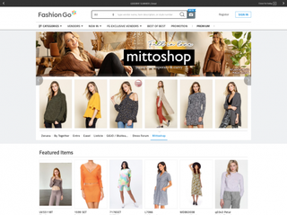 fashiongo.net Screenshot