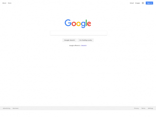 google.de Screenshot