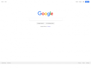 google.fr Screenshot