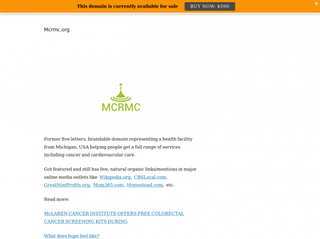 mcrmc.org Screenshot