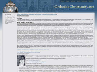 orthodoxchristianity.net Screenshot