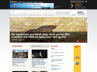 sciencemag.org Screenshot