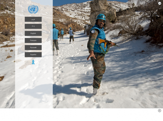 un.org Screenshot